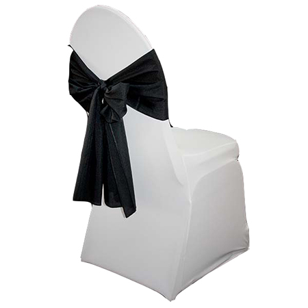 black chair tie back so where 2 events decor hire furniture