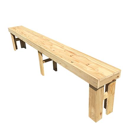 Prime Wooden Bench Hire 4 Seater Spiritservingveterans Wood Chair Design Ideas Spiritservingveteransorg