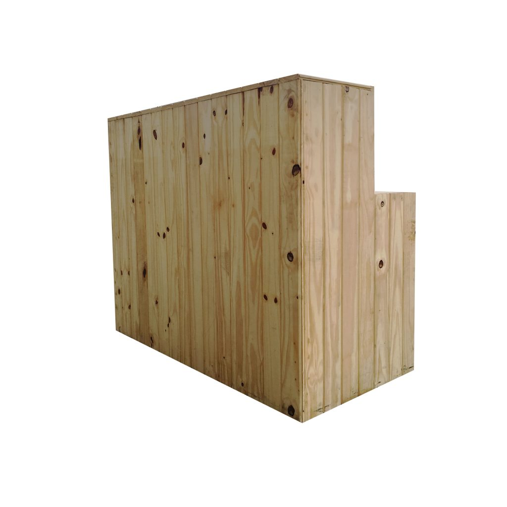 Wooden Pallet Bar So Where 2 Events Decor Hire