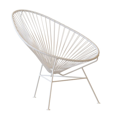 acapulco chair white so where 2 events decor hire. Black Bedroom Furniture Sets. Home Design Ideas